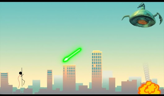 Superhero Stickman- screenshot thumbnail