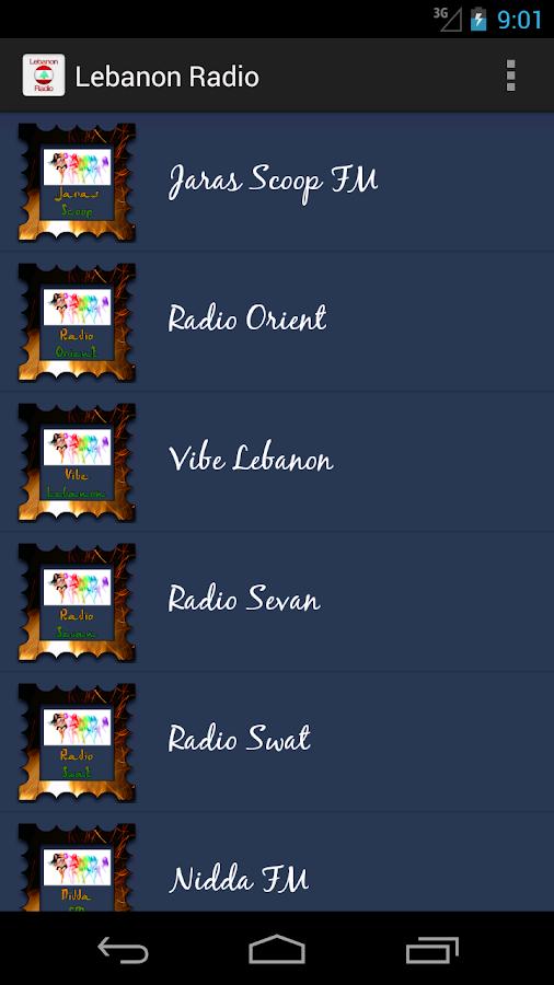 Lebanon Radio- screenshot
