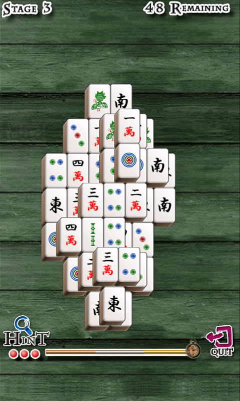Mahjong Solitaire-Tiddly Games- screenshot