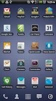 Screenshot of Blurred LauncherPro Icon Pack
