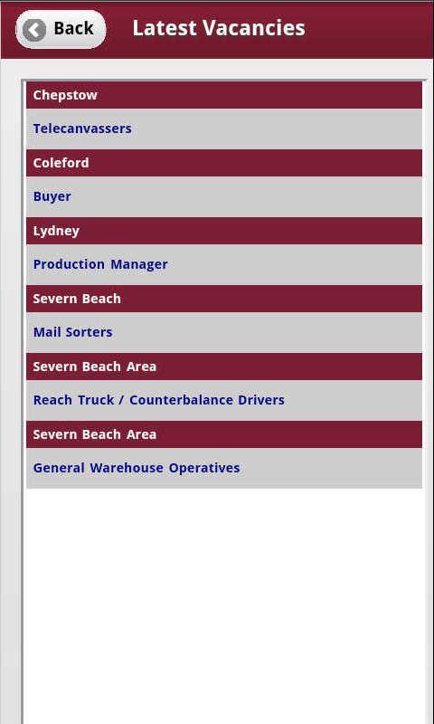 Nu Staff Mobile- screenshot