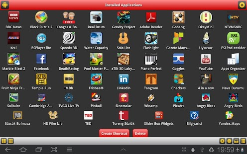 Slider Box - Apps Organizer- screenshot thumbnail