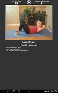 Daily Ab Workout FREE screenshot 1