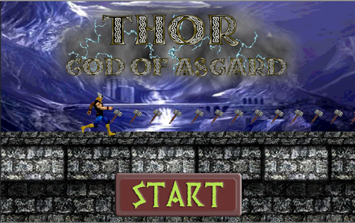 Thor God of Asgard