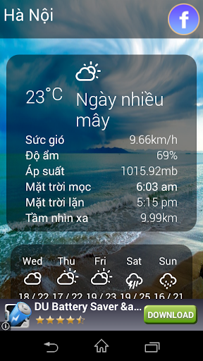 Thời tiết Việt Nam - Weather