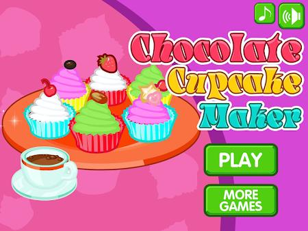 Chocolate cupcake maker 1.0.8 screenshot 560504