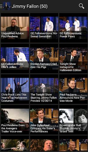 【免費媒體與影片App】Jimmy Fallon-APP點子