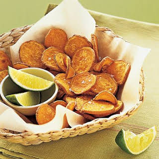 Baked Sweet-Potato Chips.