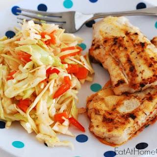 Caribbean Citrus Grilled Fish and Caribbean Citrus Slaw Recipe