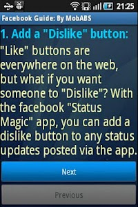 Tips and Guide for Facebook screenshot 1