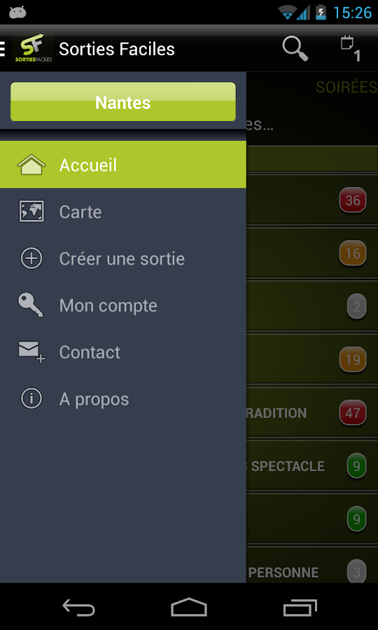Sorties Faciles - screenshot