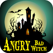 Angry Bad Witch -Kids Fun Game