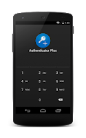 Screenshot of Authenticator Plus Import