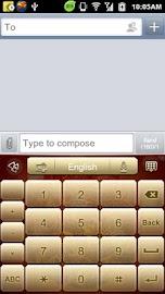 GO Keyboard Fortune Dragon Screenshot 8