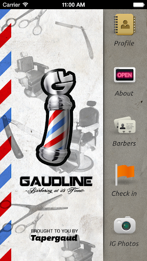 Barber mobile business card