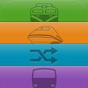 雙鐵時刻表(台鐵高鐵、航班、搶票、公車單車、轉乘、捷運) icon