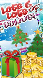 777 Christmas slot machine screenshot