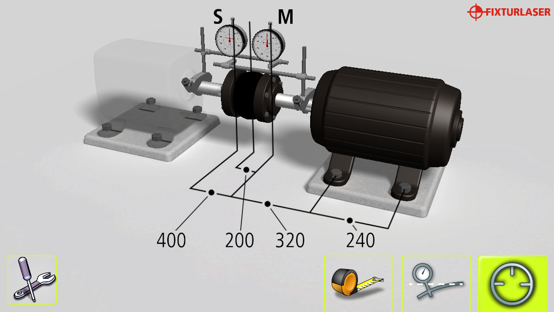 Dials android apps on google play for Pump motor shaft alignment tools