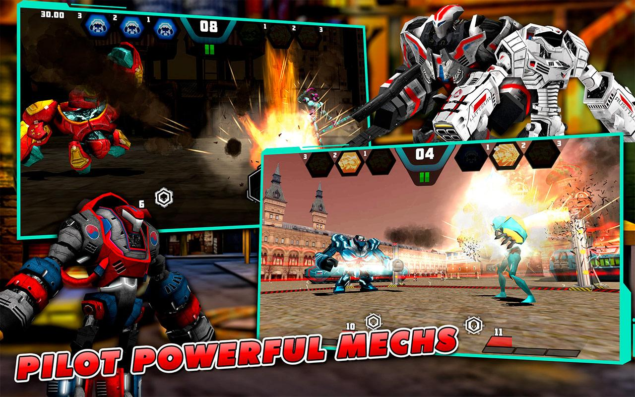 Mechs vs Aliens - screenshot
