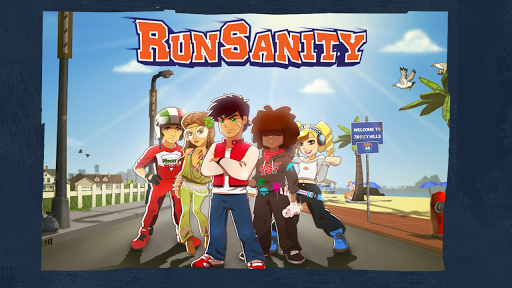RunSanity - Fun running game