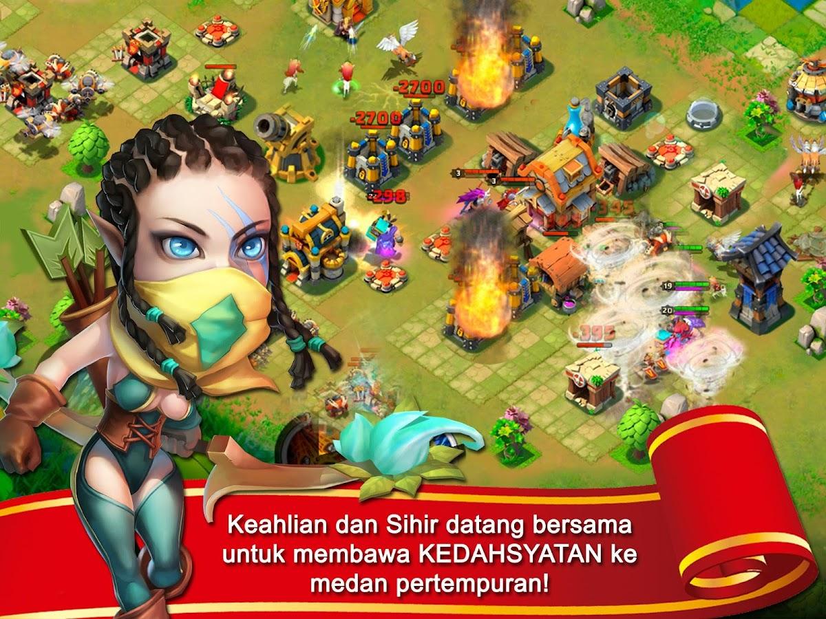 Konflik Kastil : Castle Clash - Android Apps on Google Play