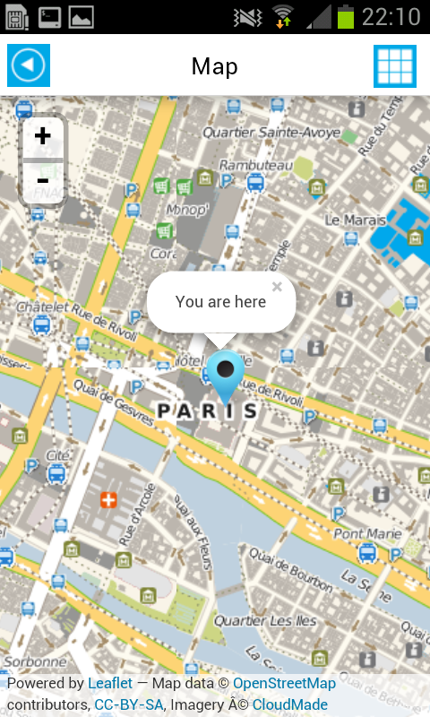 paris offline map guide hotels android screenshot 14