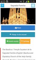 Screenshot of Barcelona Offline Map & Guide