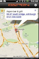 Screenshot of Aspenbar