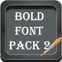 Bold Font Pack 2 icon
