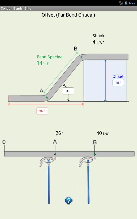 Conduit Bender Elite - Calc - screenshot