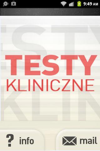 Testy Kliniczne