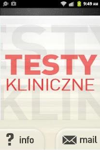 玩醫療App Testy Kliniczne免費 APP試玩