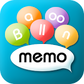 Balloon Memo-record note