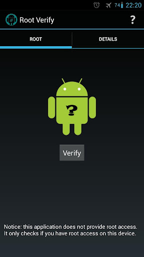 Root Verify