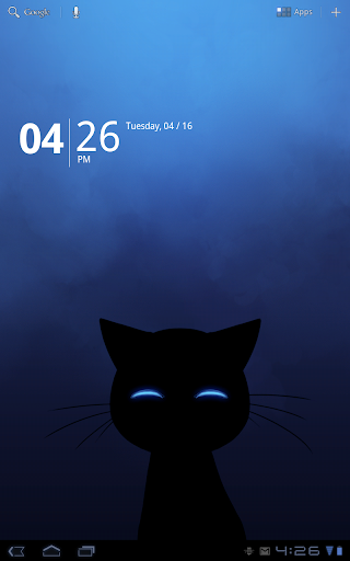 Stalker Cat Wallpaper screenshot
