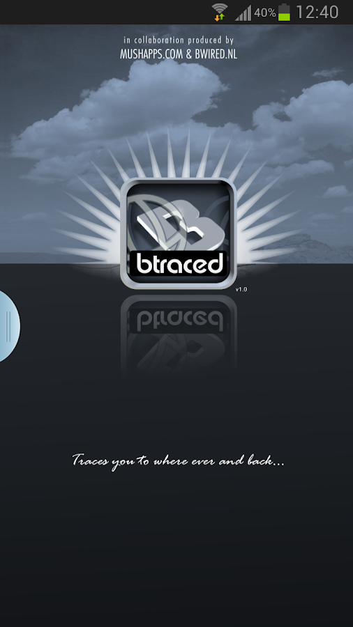 Btraced Track & Trace- screenshot