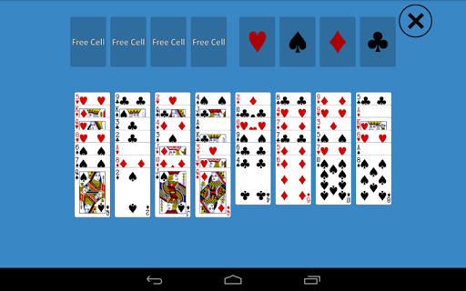 Solitaire Baker's Game