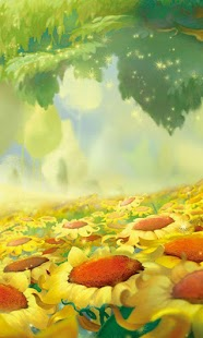 3D cartoon landscape wallpaper - screenshot thumbnail