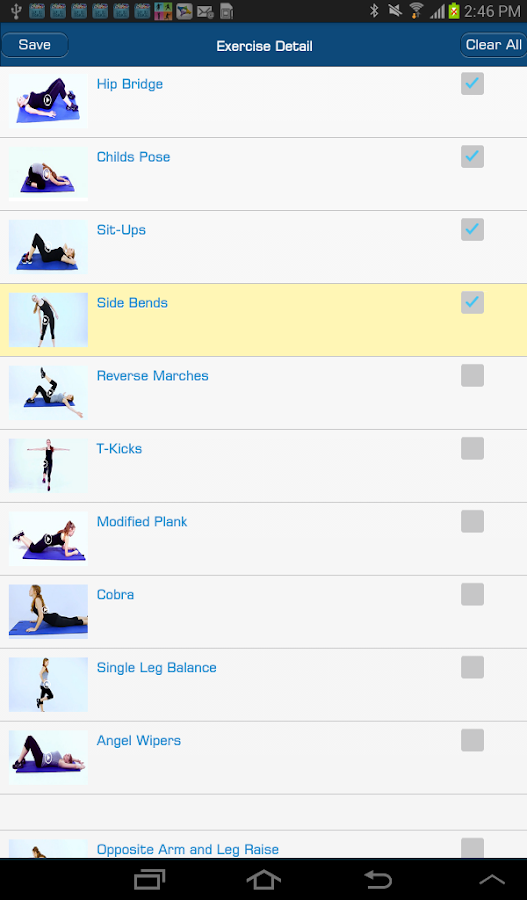 Ab Workout by MHB- screenshot