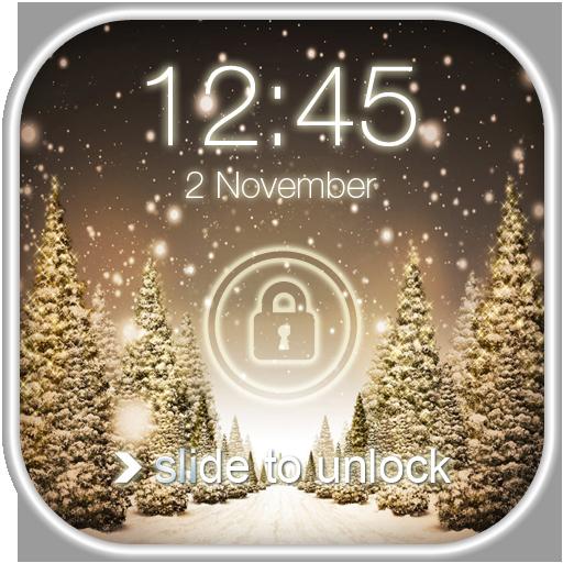 降雪屏幕鎖定 工具 App LOGO-硬是要APP