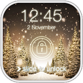 Snowfall Screen Lock