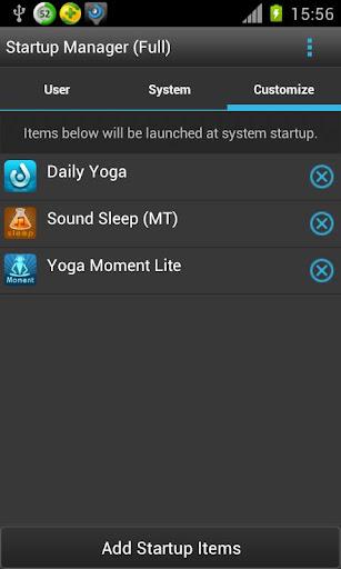 Startup Manager screenshot 3