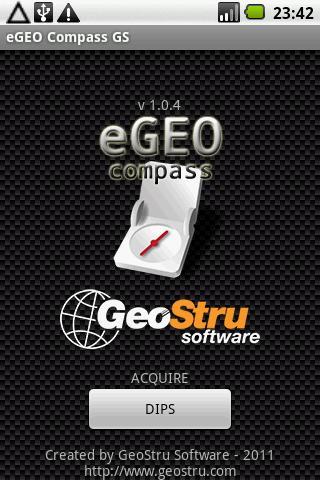 eGEO Compass GS by GeoStru- screenshot