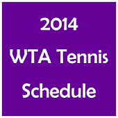 2014 Women's Tennis Schedule