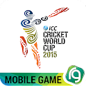 ICC CWC 2015 Mobile Game Tab icon