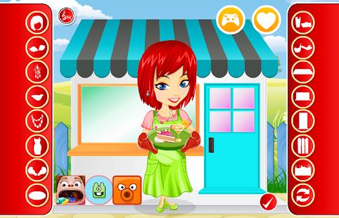 Dressup: Cute Chef Dressup