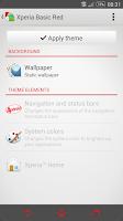 Screenshot of eXpeRianZ™ Theme - Basic Red