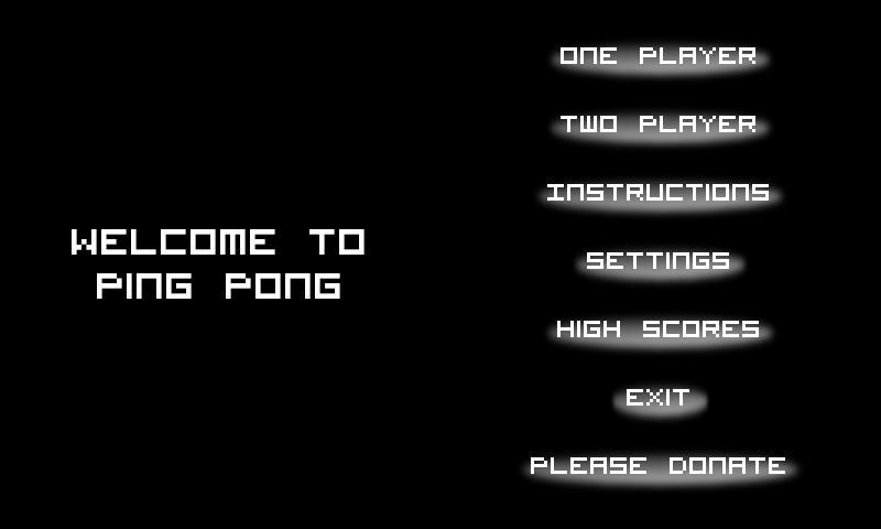 Ping Pong Free - screenshot