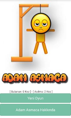 Adam Asmaca Oyunu (Türkçe) screenshot