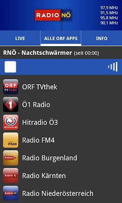 ORF Radio Niederösterreich - screenshot